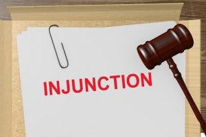 Patent based injunction