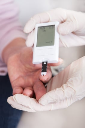 Blood glucose meters and test strips