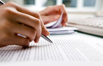 writing the patent application
